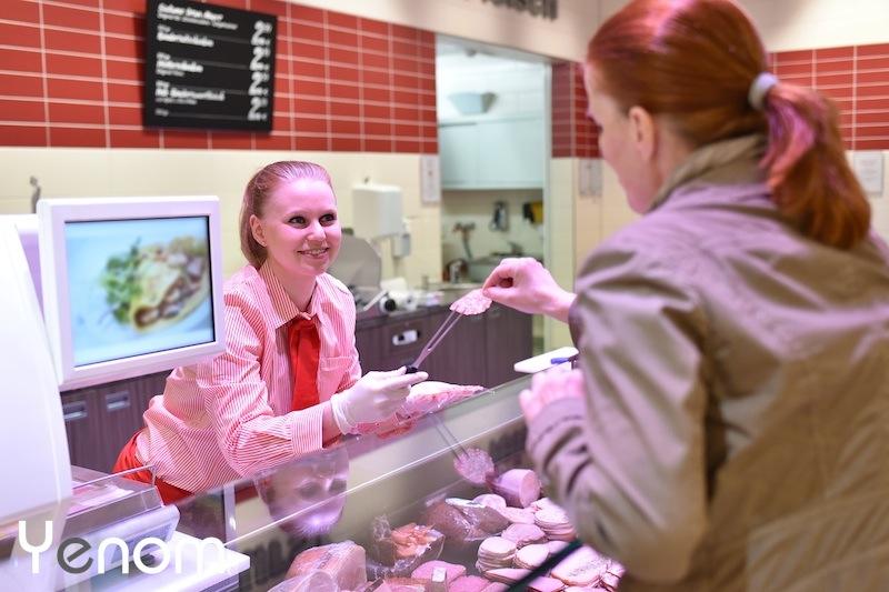 supermarkt slagerij