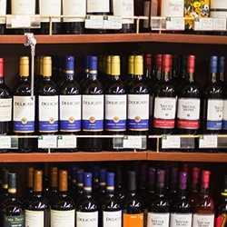 slijterij wijn