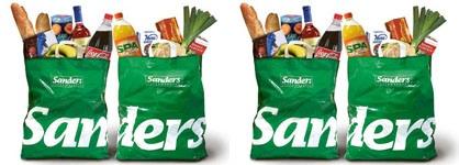 sanders supermarkt